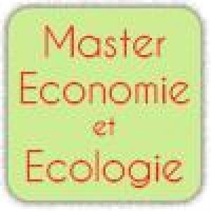Master degree Economics & Ecology