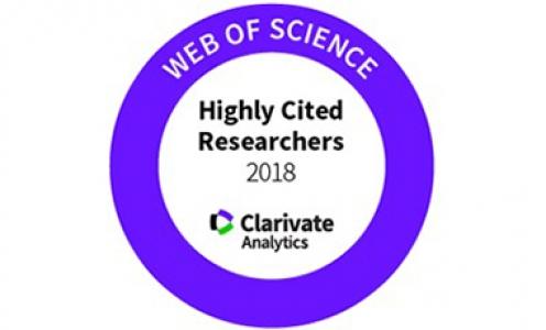 Quatre chercheurs du LabEx parmi les Highly Cited Researchers 2018