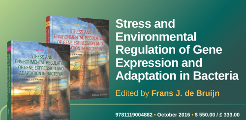 Stress and Environmental Regulation of Gene Expression and Adaptation in Bacteria