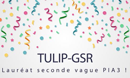 TULIP-GSR lauréat de la seconde vague du PIA3 !