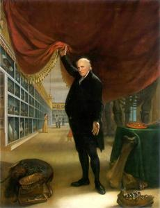 Self-portrait by the American painter Charles Willson Peale, an meaningful painting for Jose